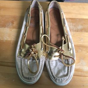 Coach Richelle boat shoes